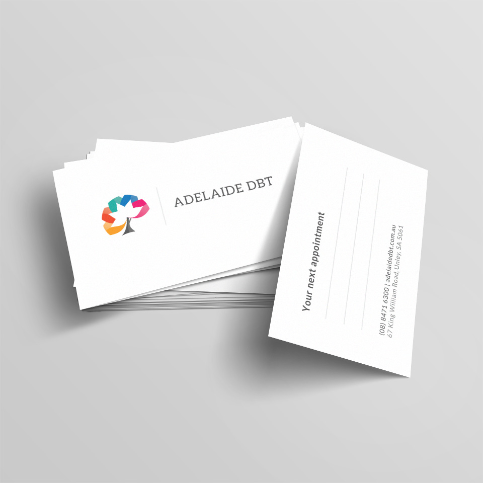 Adelaide DBT Business Cards