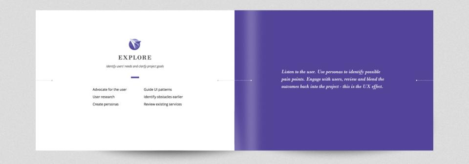 internal page design