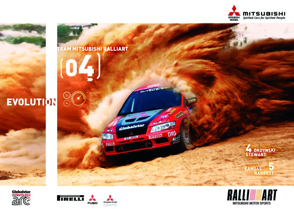 Ralliart poster